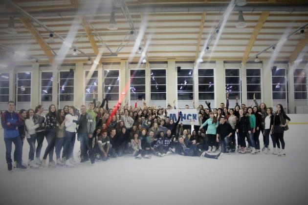 Здоровый образ жизни с ФМк - ФМк на коньках