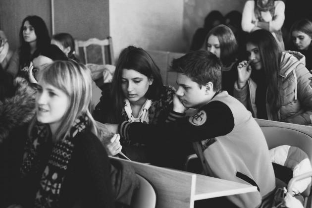 Встреча с абитуриентами на дне открытых дверей факультета маркетинга и логистики БГЭУ - 27.11.2015