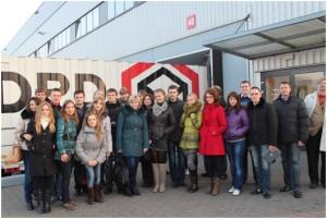 Студенты и преподаватели факультета маркетинга и логистики принимают участие в Международной образовательной программе «Информационное и техническое обеспечение развития логистики в Польше и Германии»