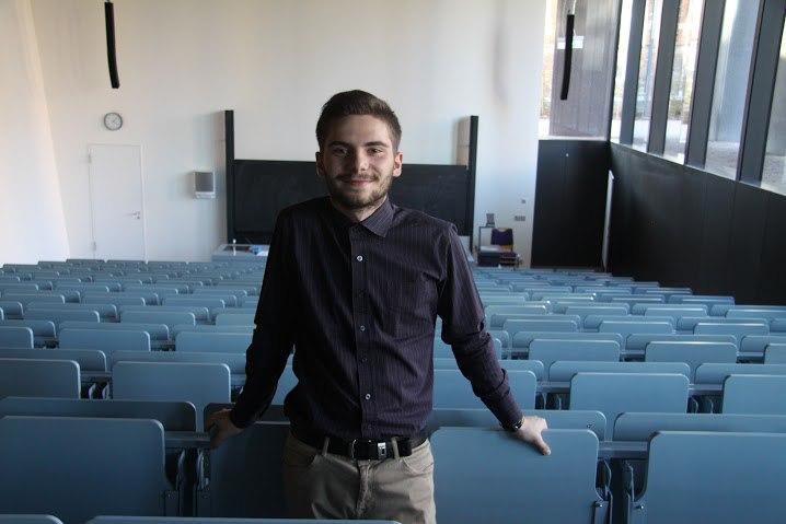 Владимир Порунов - студент четвертого курса ФМк, участник образовательной программы Двойной диплом с Высшей школы г. Миттвайда (Германия)