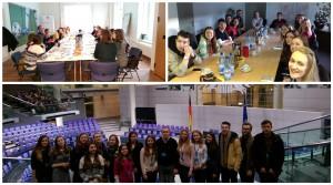Посещение Маркетингового клуба, Ассоциации логистики, Bundestag