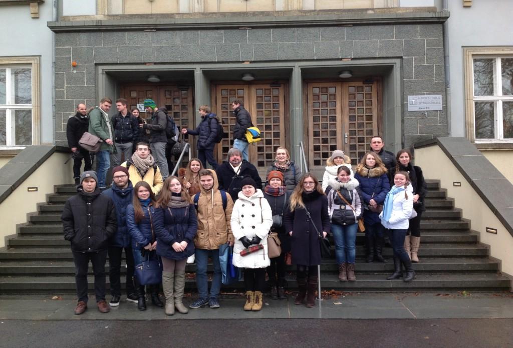 Посещение университета в г. Циттау