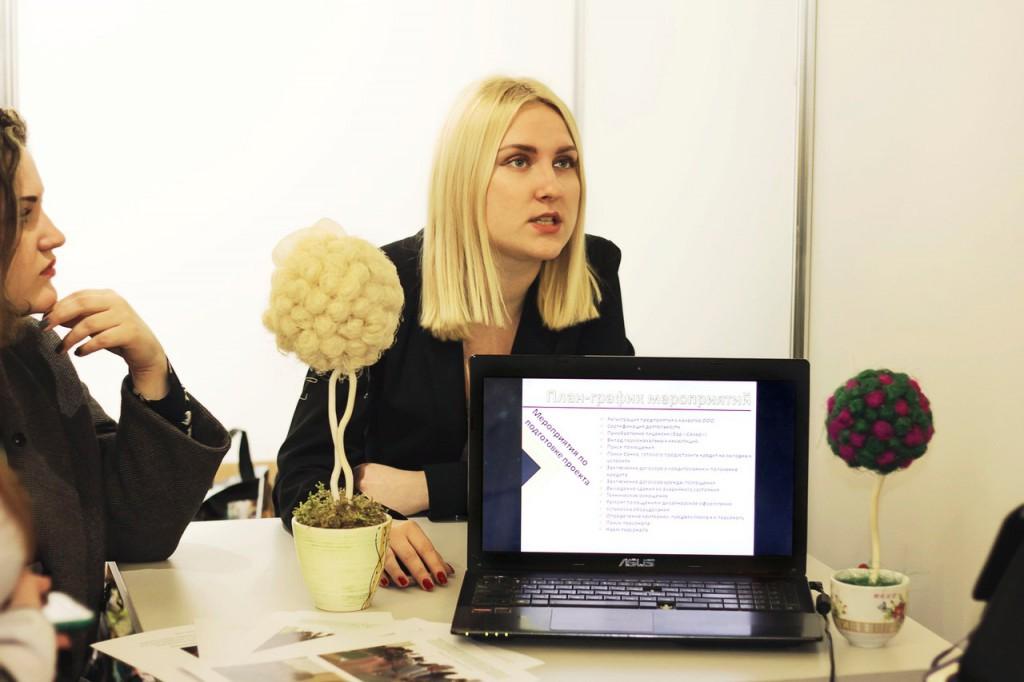 Студенты ФМк на Республиканском конкурсе «100 идей для Беларуси».