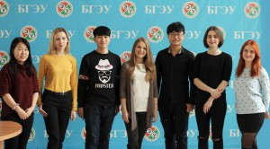 Го Чен, Ян Дэн, Ван Чуньянь и девчата из студактива ФМк