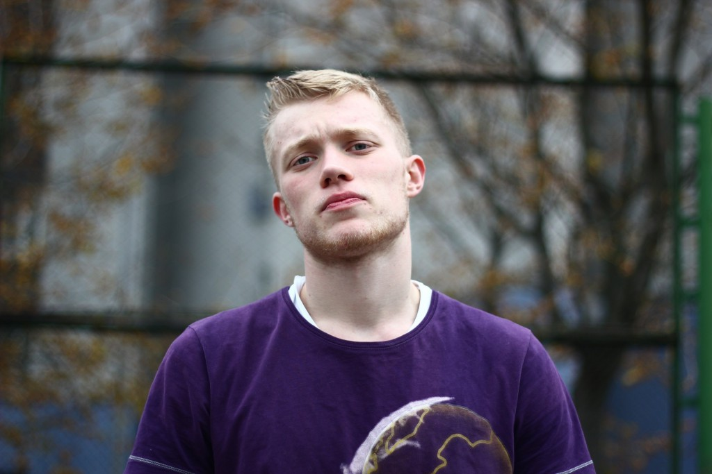 Кирилл Михайлов - капитан команды ФМк БГУЭ по баскетболу