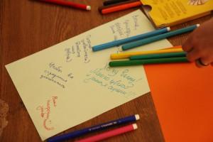 Весенние пожелания студентов на акции ФМк Масленица.