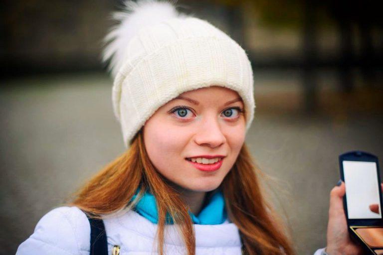 Анастасия Климко - студентка 3 курса ФМк, участник образовательной программы Двойной диплом с Высшей школы г. Миттвайда (Германия)