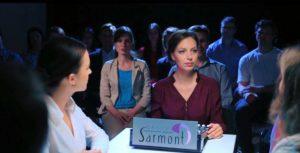 Дарья Сармонт - кадр из ролика Sarmont Studio