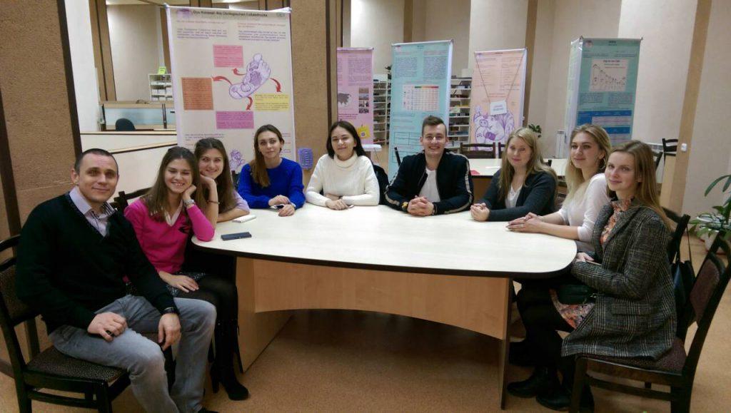 Представители студсовета университета Миттвайды в Минске