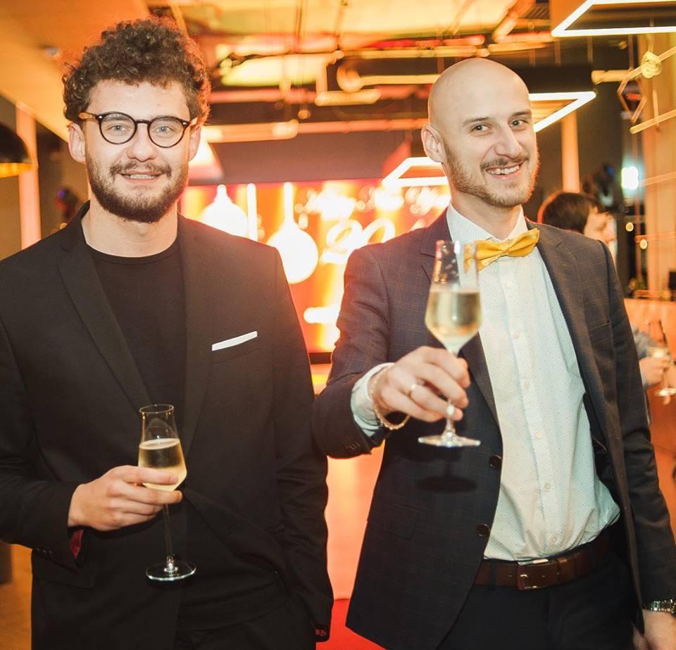 Арсений Кугейко и Юрий Липницкий (слева направо)