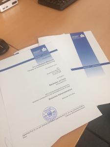 Дипломная работа в Германии