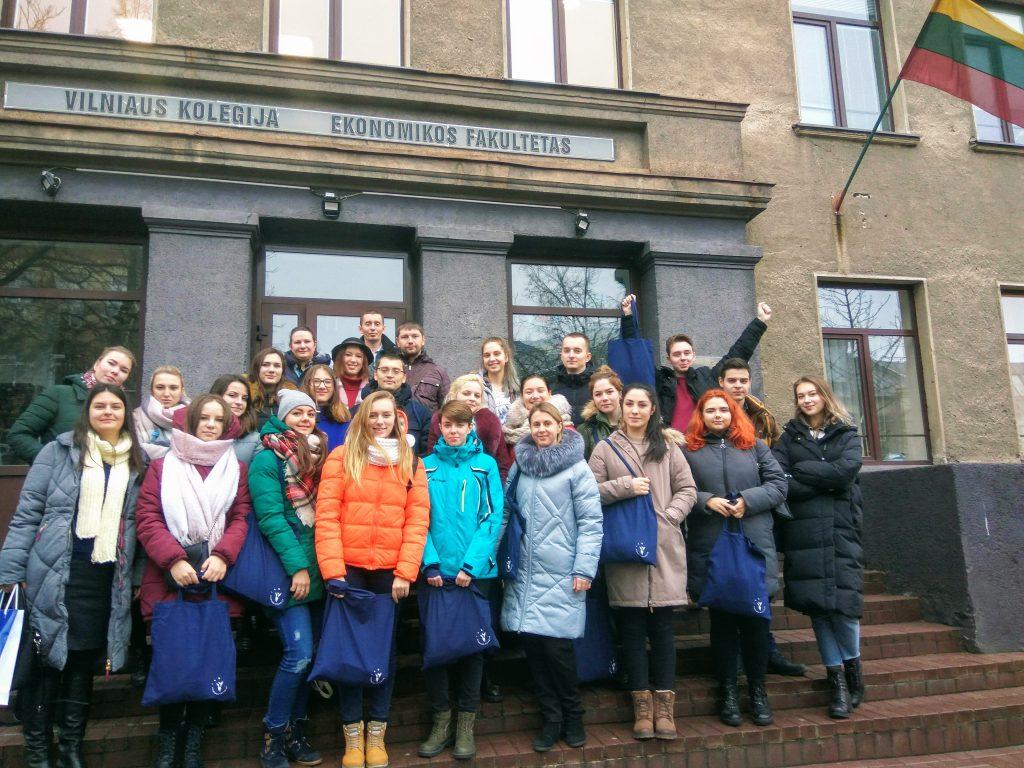 Студенты ФМк приняли участие в международной образовательной программе в Вильнюсе