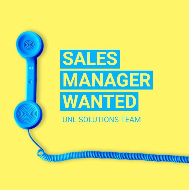 UNL Solutions ищет Business Development Manager (Junior)